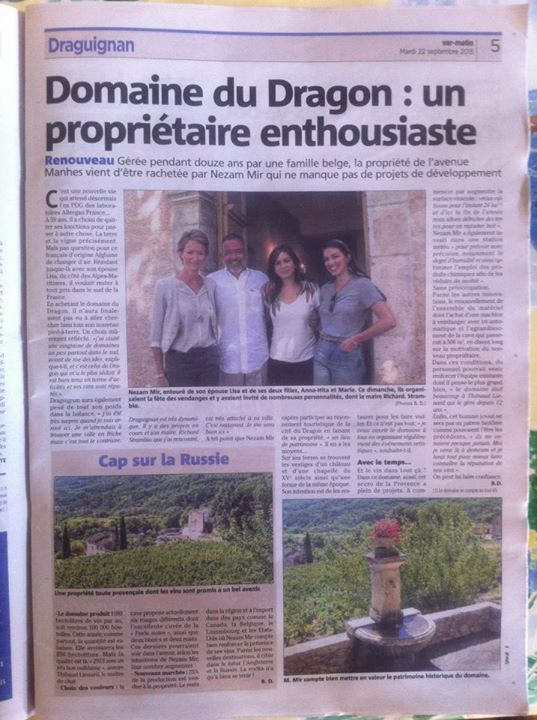 Article.domainedragon.var.matin