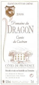 Etiquette - CAS 2006 - 75cl