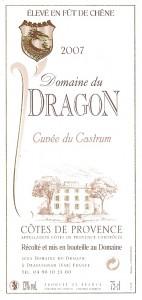 Etiquette - CAS 2007 - 75cl