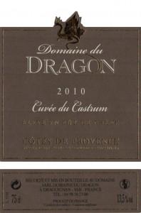 Etiquette - CC 2010 - 75cl