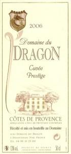 Etiquette - CP 2006 - 75cl