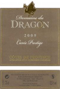 Etiquette - CP 2009 - 75cl