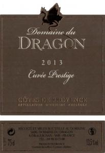Etiquette - CP 2013 - 75cl