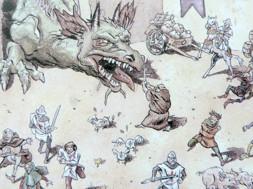 Article.11.illustration.legende.draguignan.dragon