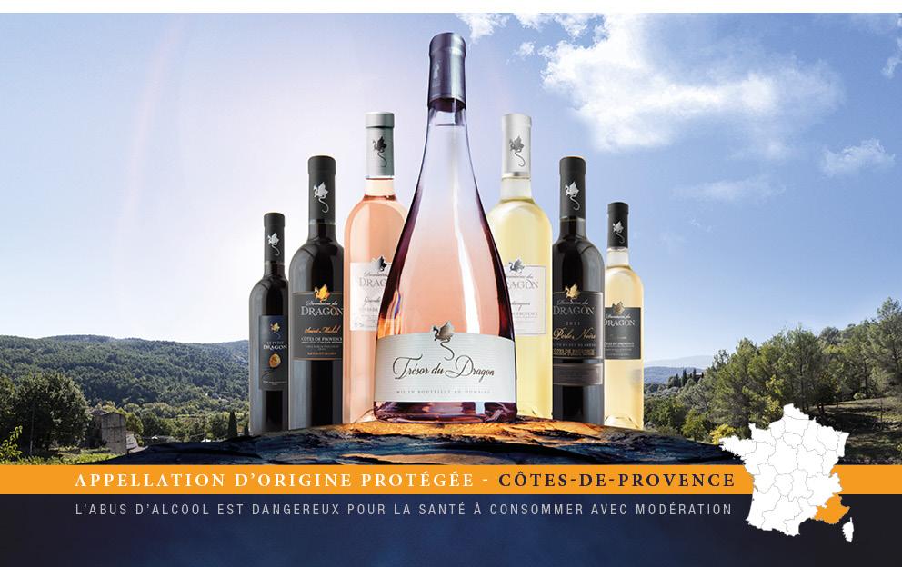 Rosé Francais, vins Cotes de Provence, vignoble varois Draguignan (83)