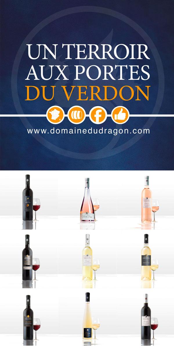 Vignoble de Provence // vins AOC Côtes de Provence & IGP-VAR